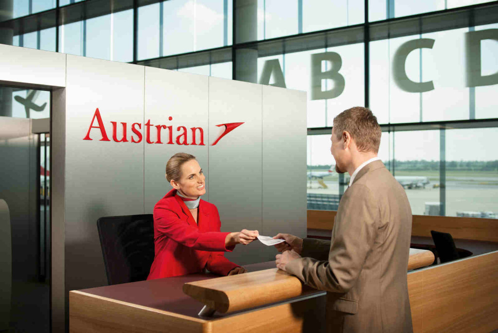 tyrolean airlines business class check in