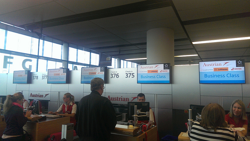 tyrolean airways business class check in
